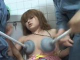 Japanese Girl Groped And Abused Hard At the Toilet