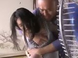 Her Small Breasts And Big Nipple Makes Her Stepfather To Be A Real Monster