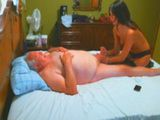 Fat Old Sugardaddy Getting Happy Ending Massage