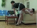 Russian Maid Hard Fucked ByYoung Master