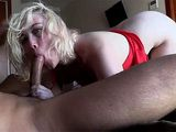 Deepthroat Blowjob And Anal Fuck With A Blonde Whore